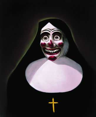 Clown Nun